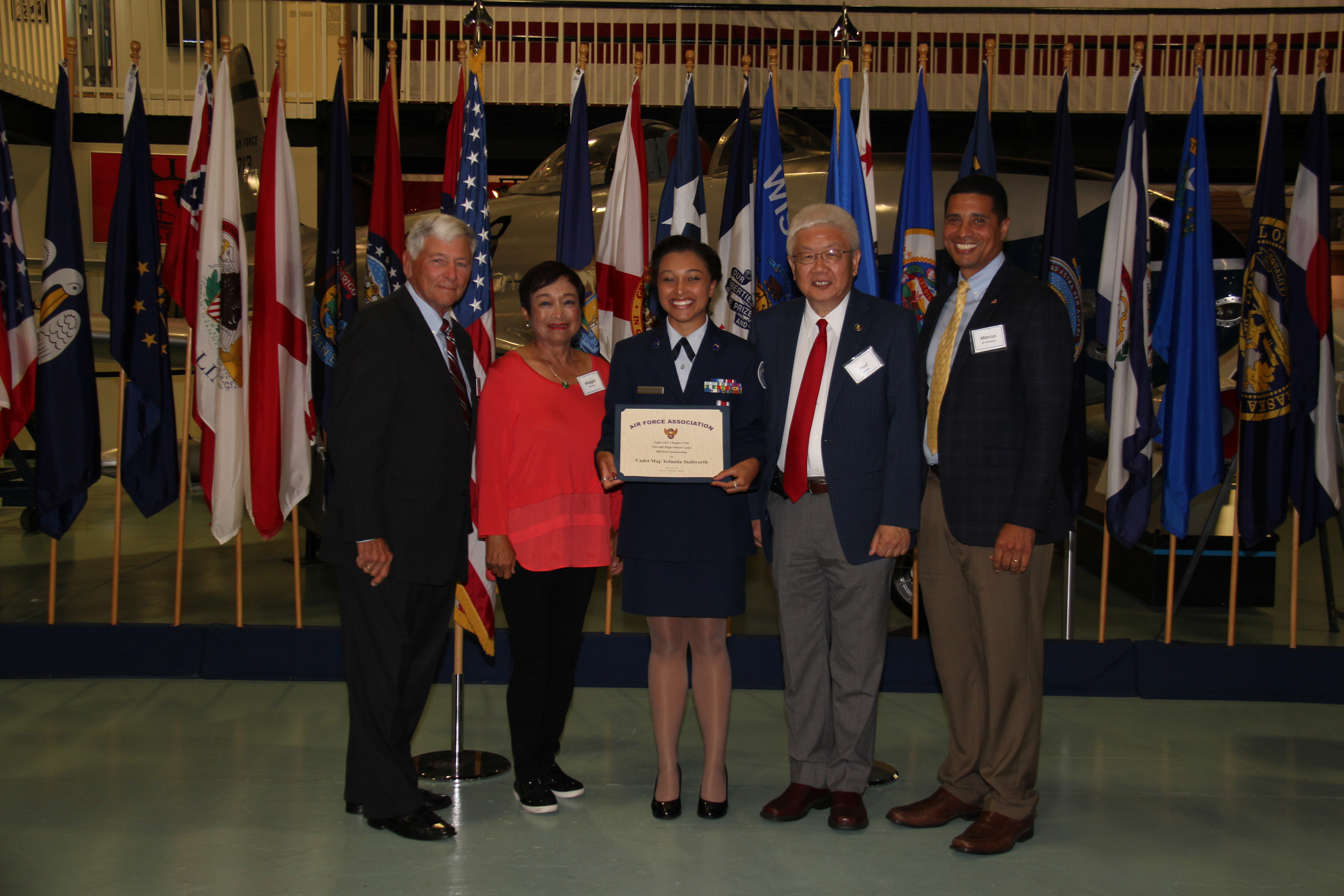 Bill Kirk Scholarship - Cadet Major Yolanda Stallworth, Niceville High School