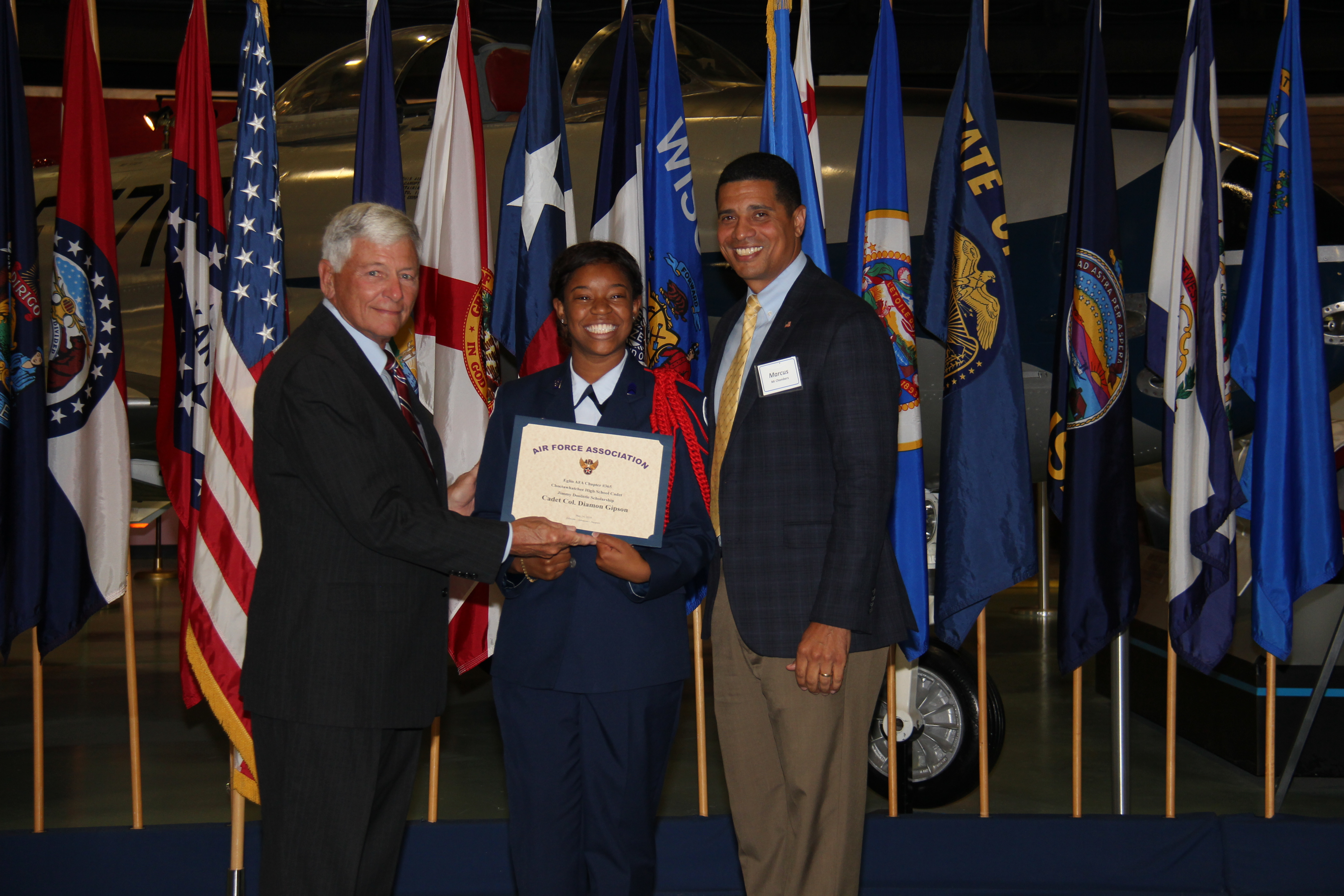 Cadet Colonel Diamon Gipson, Choctawhatchee High School