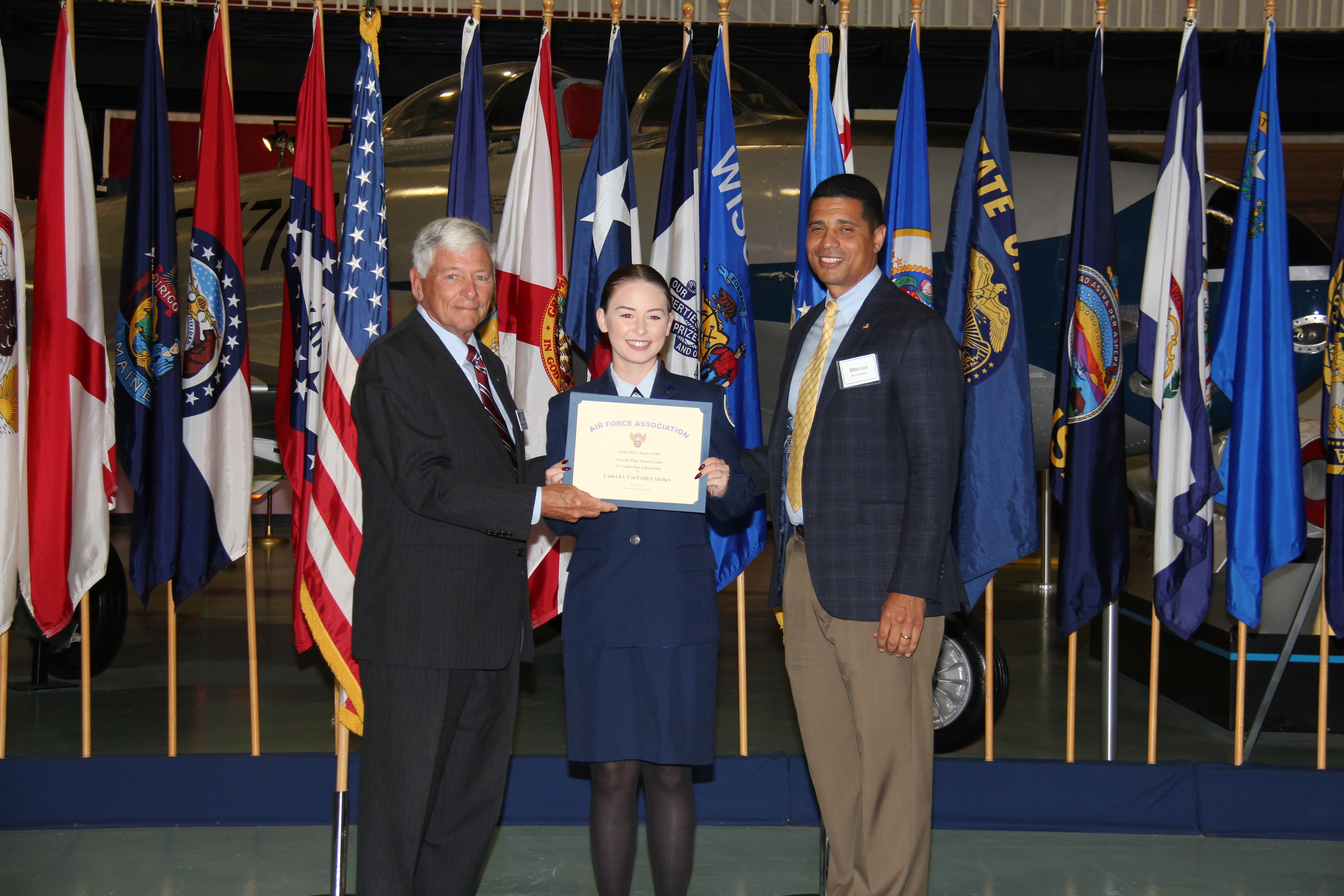 Cadet Lt. Colonel Faith Clatchey, Niceville High School