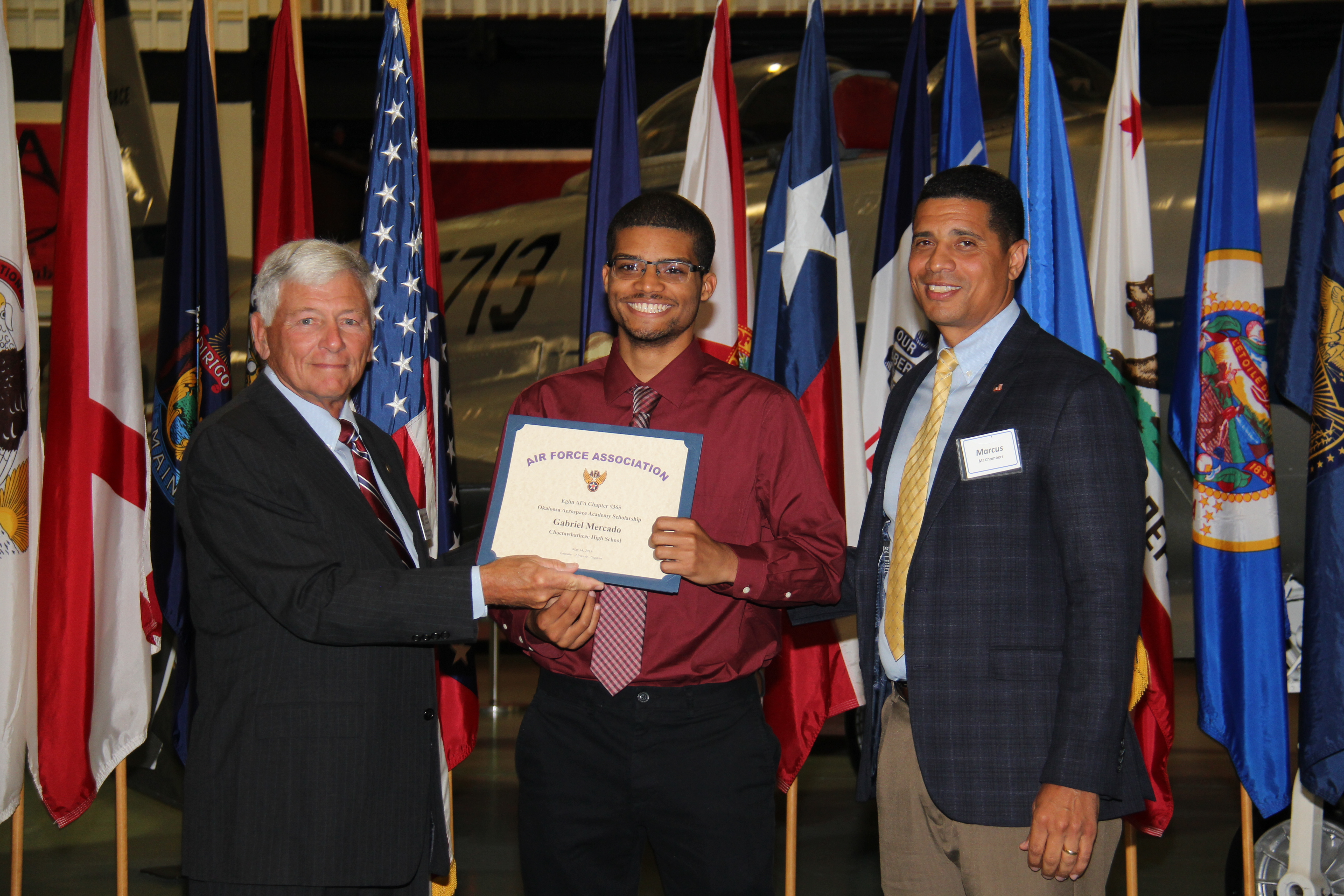 Gabriel Mercado, Embry Riddle Aeronautical University Worldwide, Okaloosa Aerospace Academy, Choctawhatchee HS campus