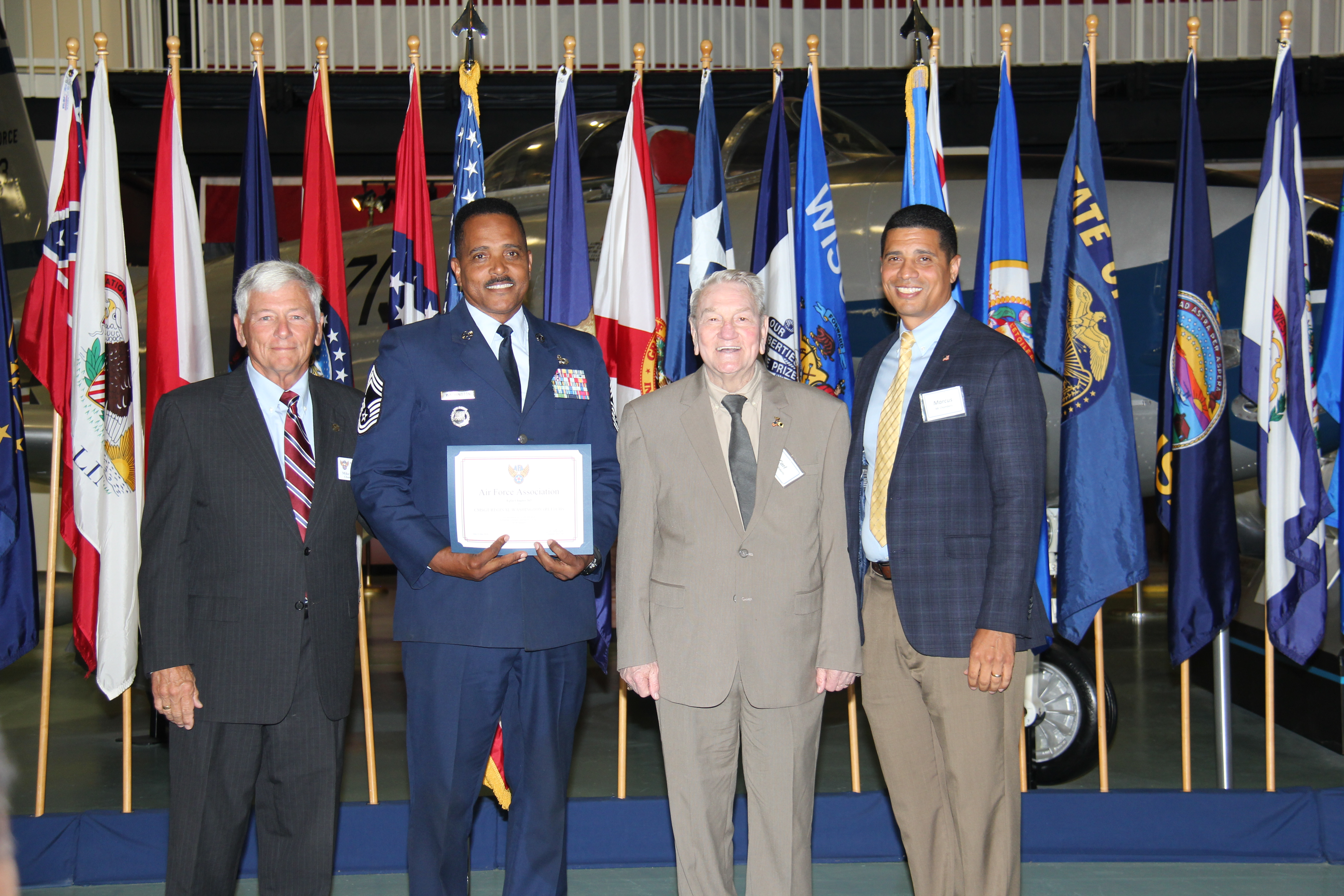 CMSgt Reginald Washington, Choctawhatchee High School, Aerospace Science Instructor
