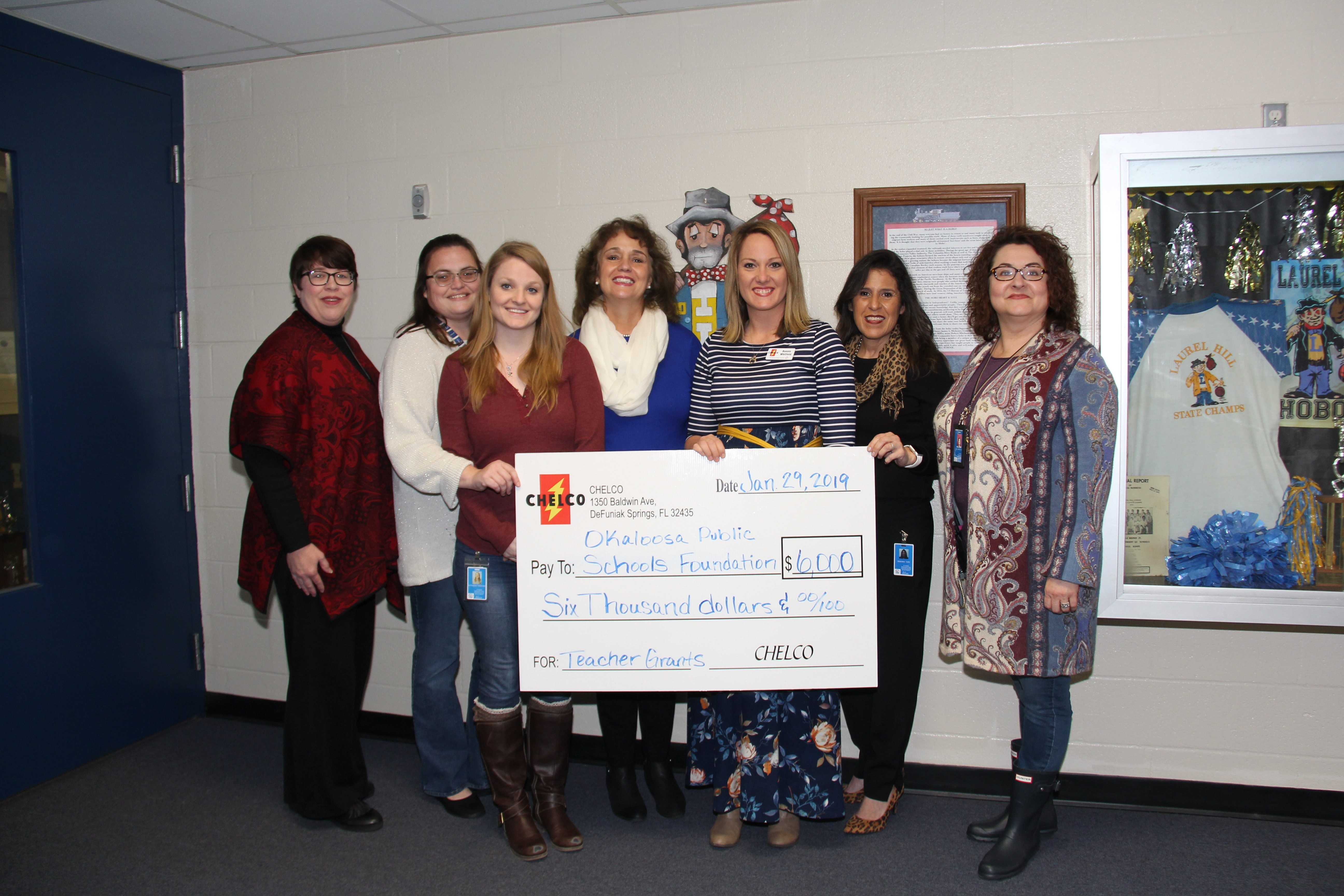 Laurel Hill School CHELCO Grant Recipients