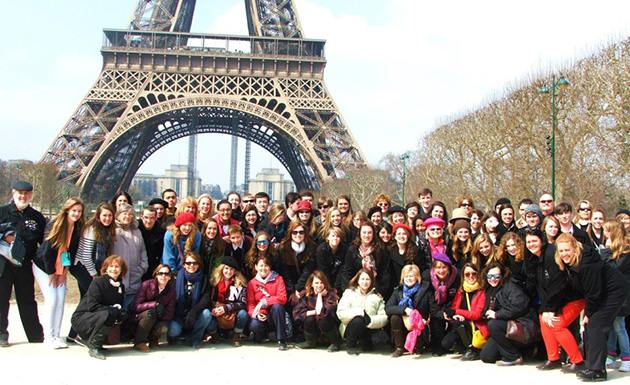 NHS Chorus in Paris