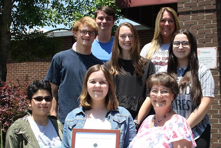 NHS Students Receive VHP Medal of Honor