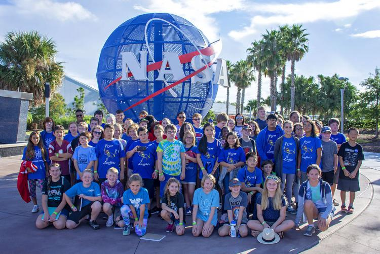 Okaloosa Robotics Teams Participate in FIRST® Lego Robotics Kick-off at Kennedy Space Center