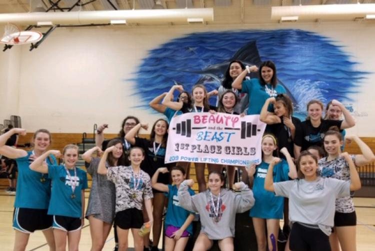 DMS Girls Weightlifting Team
