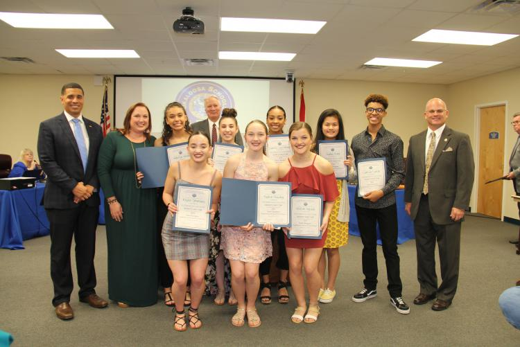 Choctaw Indianette Dance Team Recognized as State Champions