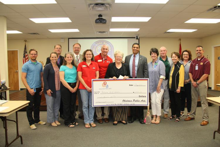 Okaloosa Public Arts Donates $12,000 to Okaloosa County Art Teachers