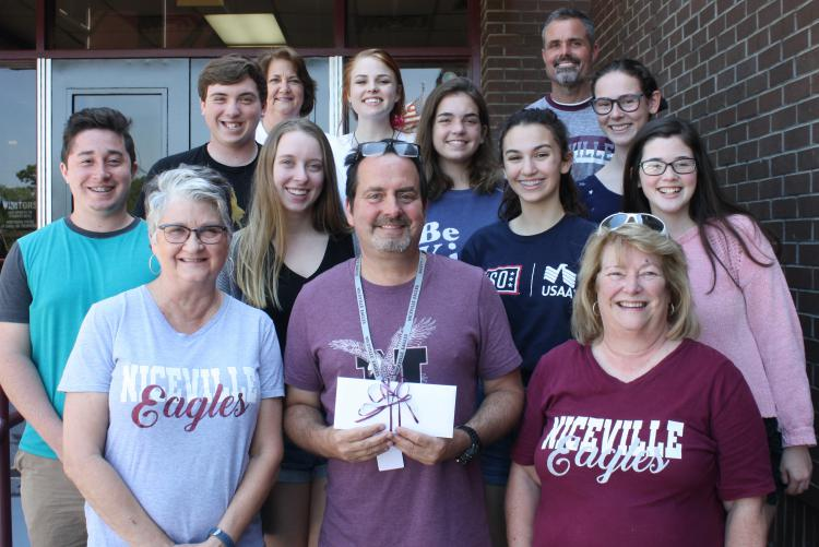 NHS Theater Department Receives Donation