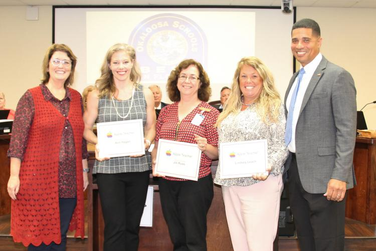 Area Educators Recognized for Earning Google Educator, Apple Teacher, and Microsoft Innovative Educator Designations