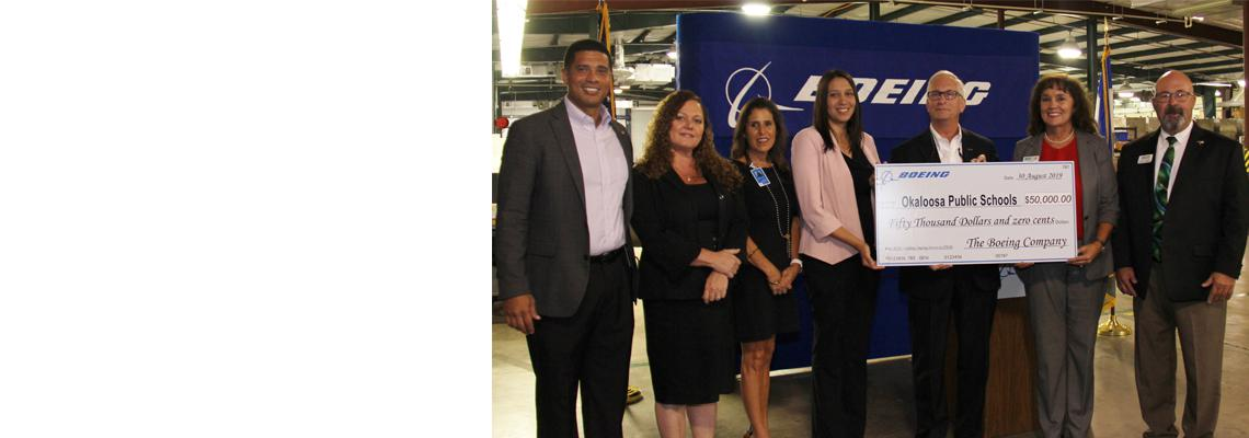 Okaloosa Public Schools Foundation Awarded Grant From Boeing to Expand Middle School STEM Program with 3D Printing Tools