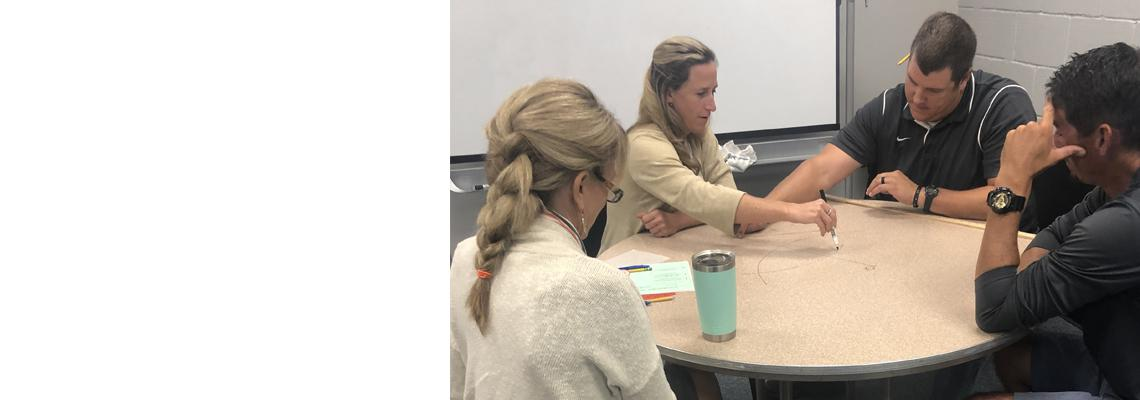 Middle School and High School Geometry Teachers Attend Professional Development