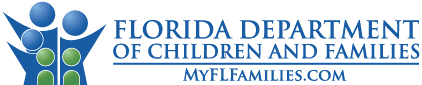 Logo for Florida Department of Children and Families